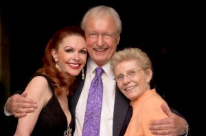 Leah and Kenny with Patty Duke - Sunshine For Darkness Foundation