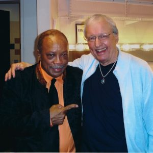 Kenny with Quincy Jones